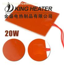 Silicone Rubber Heaters with 3M PSA adhesive