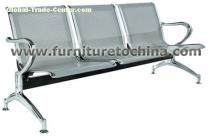 metal waiting seat, airport reception chair, bank lobby chair, commercail hospital furniture