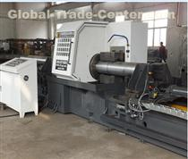 CNC lathe for coupling pipe billet cylindrical surface