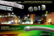 STEEL over braided Flexible METAL Conduit For Mining machine Wirings
