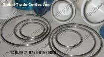 Tungsten carbide steel ring with glue cushion for pad printer of ink cup