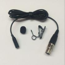 ME2B balck color lapel microphone in E2 plug