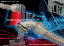 DELIKON Automation heavy series over BraidED Flexible metal Conduit HEAVY SERIES over braided conduit fittings for heavy industry wirings,fi