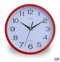 Fashionable promotional quartz wall clock (No.226)