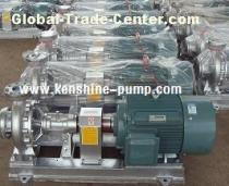 RY Series stainless steel centrifugal pump for fluids with high temperature