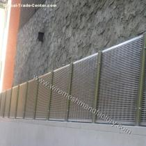 Decorative Stainless steel Wedge Wire Screens