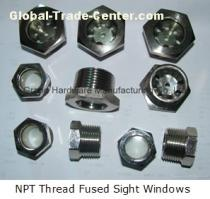 NPT fused sight glass