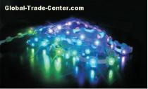LED piranha string lights animation display