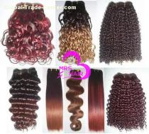 VIRGIN REMY INDIAN HUMAN HAIR WEFT