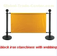 stanchion and crowd control barriers
