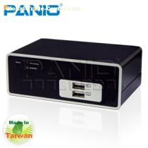 PANIO KF101P Single Port Combo KVM over IP-TAIWAN