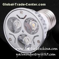 LED lamp cup, high power spotlight, aluminum dimmable replacement lighting, die-casting energy saving light, E27/E14/GU10/MR16 bulb lights