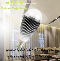 7W E27 LED bulb light, high power energy efficient lamp, super brightness interior lighting with factory price