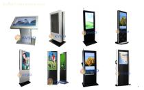 Big Screen Advertising Kiosk