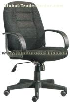 office swivel chair, fabric lift chair, revolving seat, manager chair, computer arm rest furniture