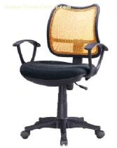 swivel mesh chair, office computer chair, revolving lift seat, modern armrest chair, clerk furniture