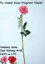 PU Flower rose  Real touch feelings Fragrant Flower Artificial Flower