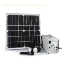 small home portable solar power system