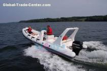 Liya 22feet RIB boat, Semi-rigid Boat with high quality