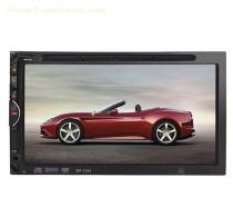 6.95 inch Double Din Car DVD Player Bluetooth Handsfree 1269