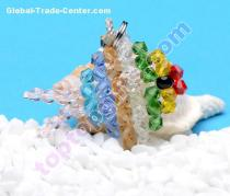 2013 new beaded fish animal iphone4 charm ornament