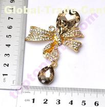 rhinestone butterfly cabochon with crystal stone phone shell decoration