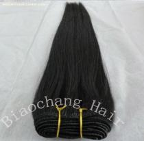 100% human virgin remy hair weft