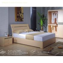 2012 hot sell fashion wooden queen bed