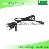 DC Power Splitter Adapter, Power Cord, DC cable