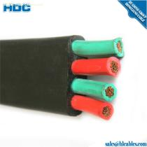 China Professional Factory Flame-retardant Flat Cable Copper conductor PVC insulated PVC sheathed Flat cable