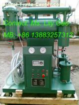 Single Stage Vacuum High Efffective Transformer Oil Purifier
