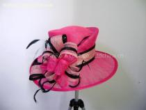 YRSM11012 sinamay hat, dress hat, church hat,party hat