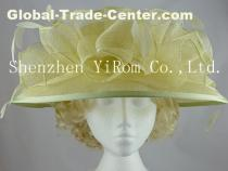 YRSM13012 sinamay hat,church hat, occasion hat, race hat,wedding hat