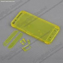 Full Housing Transparent Without Apple Logo Plastic Replacement Back Cover for iPhone 5