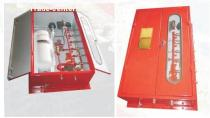 Quick-closing valves control box for ship