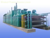 BG183A 3-layer Net-belt Veneer Dryer