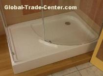 Special shaped shower tray 01