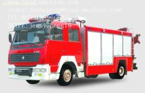 CHINA SINOTRUCK6T/6M3 WATER FIRE TRUCK/FIRE ENGINE/FIRE FIGHTING TRUCK