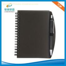 68K PP Cover Spiral notebook with ball-pen