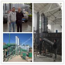 china JNC-3 waste oil recycling plant to diesel fuel