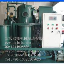 double -stage used transformer oil purification plant