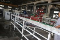 PPR hot and cold water pipe extrusion line