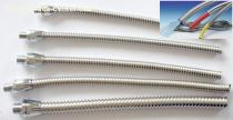 small bore interlocked Stainless Steel flexible Conduit stainless steel hose of thermal coupler cable protection,sensor wiring flexible cond