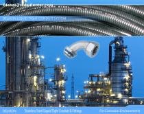 DELIKON stainless steel liquid tight conduit,stainless steel liquid tight conduit fittings are relied upon by leading petrochemical organisa