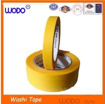 Yellow japanese washi tape wholesale