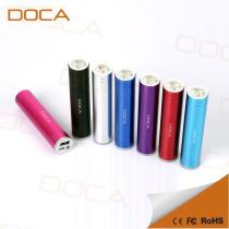 DOCA D536 2600mah portable power bank with led torch light