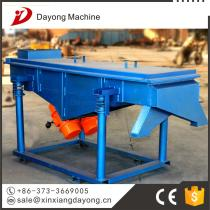 high efficiency linear vibrating screen for cold sinter with best quality