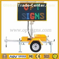 5 Color LED Full Matrix Portable Message vms Board