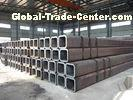 SHS / RHS Thick Wall Hollow Section Pipe, Welded Black Square Hollow Section Tube For Structure