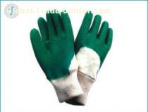 Knitted Color Wrist, Puncture Resistance Industrial Protective Gloves For Outdoor Work